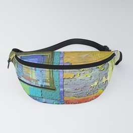 A Morning Scene Abstract No. 3 Fanny Pack