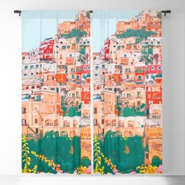 Positano, beauty of Italy Blackout Curtain
