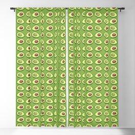 Avocado on green Blackout Curtain