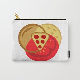 Pizza Venn Diagram Carry-All Pouch