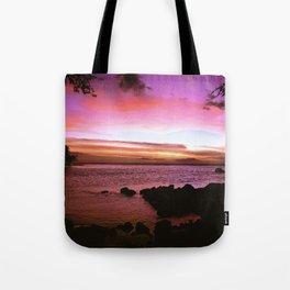 Kona Hawaii Sunset Tote Bag