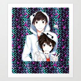 Neko baymax Art Print