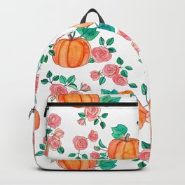 Pumpkins and Roses Backpack