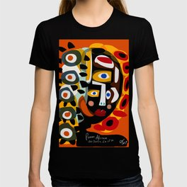 African Woman is dreaming in the sunrise T-shirt