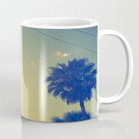 palms Mugs featuring Palms by Devin Stout