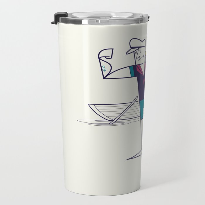 We will sail away Travel Mug