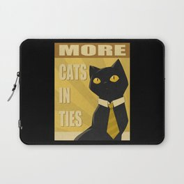 Cats in Ties - PSA Laptop Sleeve