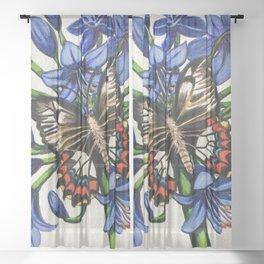 Summer Visitor Sheer Curtain