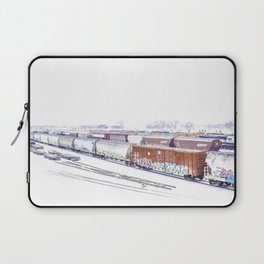 Cold Trains Laptop Sleeve