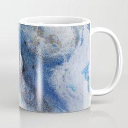 Abstract blue marble Coffee Mug
