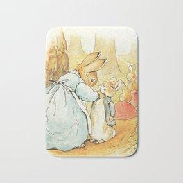 Ms Rabbit Says Goodbye Beatrix Potter Bath Mat