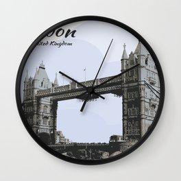 Tower Bridge London United Kingdom Wall Clock