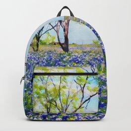 Bluebonnet Texas Backpack