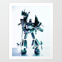 GunBuster Art Print