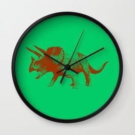 Vintage Toy Dinosaur     Triceratops Wall Clock