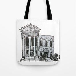 Milledgeville City Hall Tote Bag