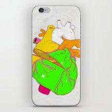 HEART OF THE JULIET - DAGGER iPhone & iPod Skin