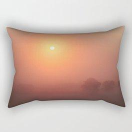 The Sun Before the Burn Rectangular Pillow