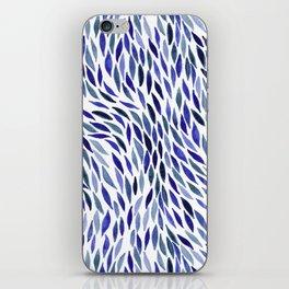 Flow - Lapis iPhone Skin