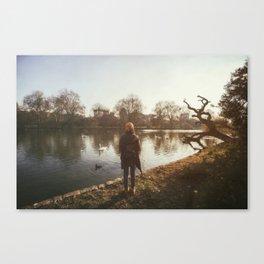 Sunset at St. James's Park Canvas Print