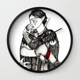 Letter from Varric Wall Clock