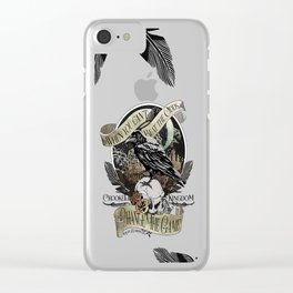 Crooked Kingdom - Change The Game Clear iPhone Case