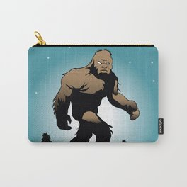 Bigfoot Silhouette Illustration. Carry-All Pouch