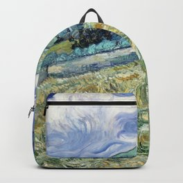 "Vincent van Gogh ""Mountainous Landscape behind Saint-Paul Hospital"" Backpack"