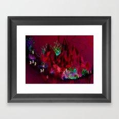 Crystal Moon Folk Framed Art Print