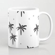 Summer monochrome palm tree holiday Mug