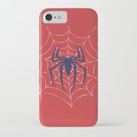 spider iPhone & iPod Cases featuring Spider by Vickn