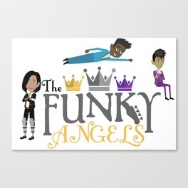 The Funky Angels Canvas Print