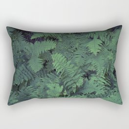 Fern Leaf Pattern Rectangular Pillow