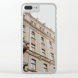 Architecture of Riga Clear iPhone Case