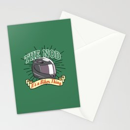 Bikers Nod Stationery Cards
