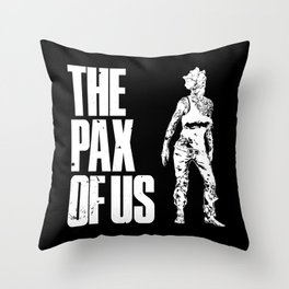 The PAX of Us Throw Pillow