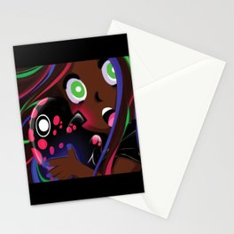 Shimon and Elliyana Scare Stationery Cards