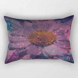 Geometric Flower Rectangular Pillow