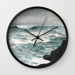 A visit to Winslow Homer's Cannon Rock Wall Clock