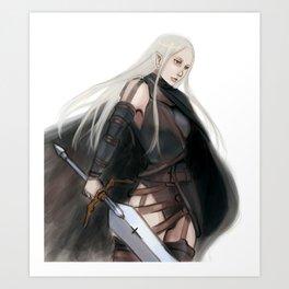 flash sword irene Art Print