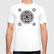 Cucuteni Legacy Mens Fitted Tee MEDIUM White