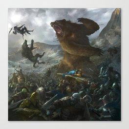 Five Armies Canvas Print