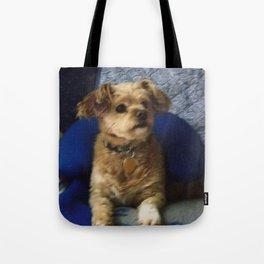 The Cute Pup Tote Bag