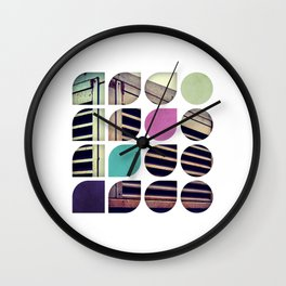 Cold Comfort Collage — Bunker Wall Clock