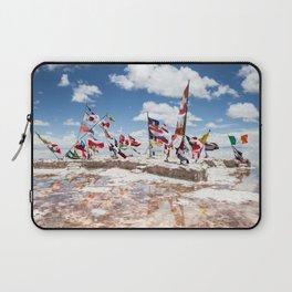 Salar de Uyuni International Flags Laptop Sleeve