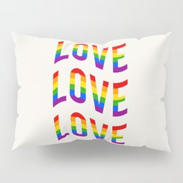 LOVE LOVE LOVE Pillow Sham