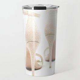 the shoes of the bride Travel Mug