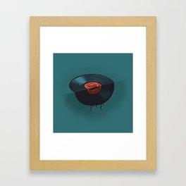 Hot Record Framed Art Print