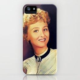 Celeste Holm, Actress iPhone Case