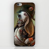 napoleon iPhone & iPod Skins featuring Napoleon Boneaparte by Christina Hess